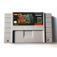 Super Nintendo SFC SNES Game Contra III The Alien Wars Video Game Cartridge Console Card NTSC