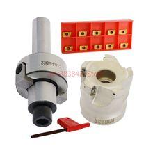 1set C16 FMB22 Shank + BAP300R 50 22 5T Face Milling CNC Cutter 10pcs APMT1135 Inserts For Power Tool