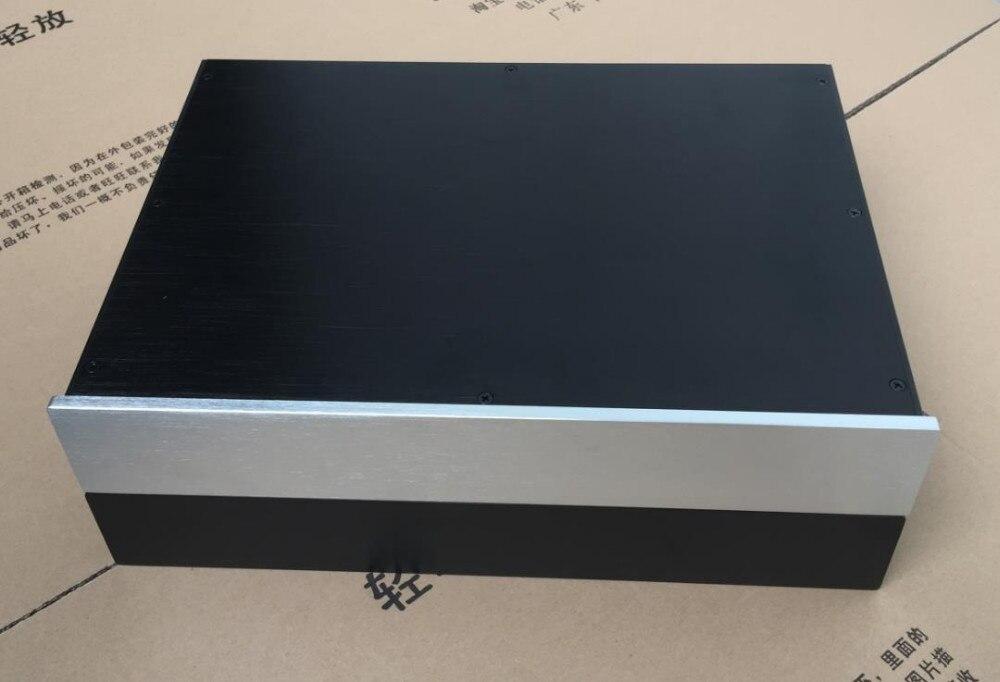 BZ4307L フルアルミプリアンプエンクロージャ/アンプシャーシ AMP ボックス DAC ケース  グループ上の 家電製品 からの スピーカーアクセサリー の中 1