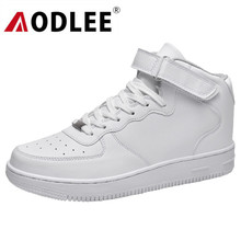 AODLEE White Sneakers Men Shoes Casual Classic Breathable Winter Fashion Men Cas