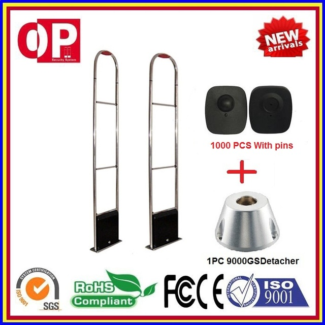 2017 hot-sales eas rf anti shoplifting security system for supermarket and shopping mall