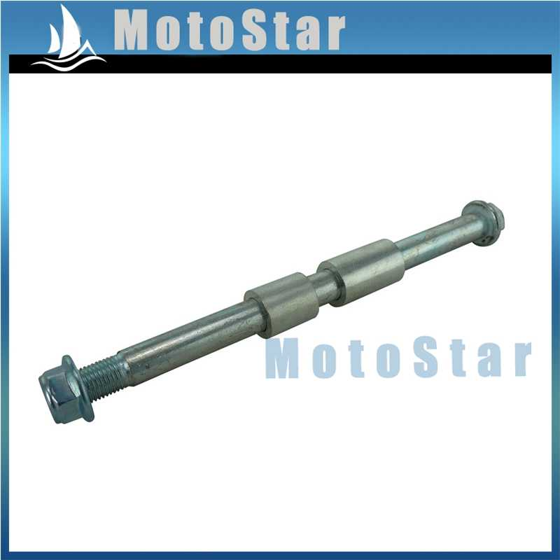STONEDER 15mm Drilled Rear Wheel Axle For Chinese Pit Dirt Motor Bike Motard Motorcycle