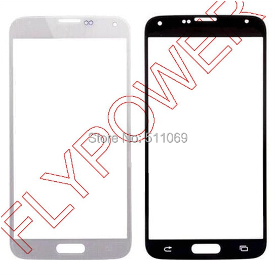 White Replacement Front Screen Outer Glass Mirror Lens For Samsung for Galaxy S6 G9200 LCD Screen Mirror Parts free shipping