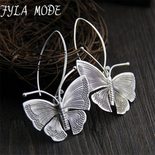 font b 2018 b font New Hot Fashion Fine Excellent Jewelry Thai Silver Butterfly Old
