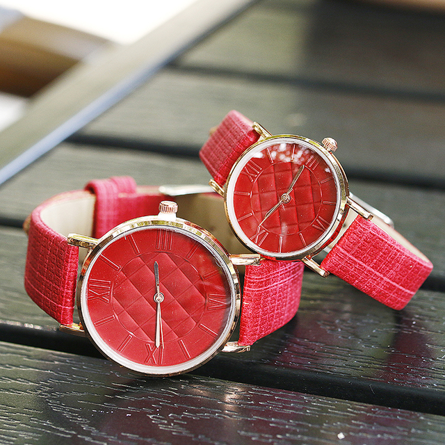 simple lover's wrist watches fashion casual men women quartz leather watch BGG brand Couples Women clock hours drop shipping