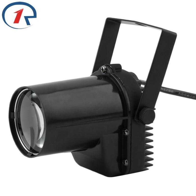 ZjRight 5W Mini LED Pinspot Εφέ Φως Στάδιο Spotlight - Εμπορικός φωτισμός - Φωτογραφία 2