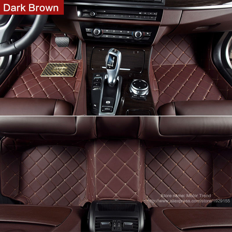 Custom fit car floor mats special for Mercedes Benz W204 <font><b>W205</b></font> C32 C55 C63 <font><b>AMG</b></font> C class 250 C180 <font><b>C200</b></font> C300 3D rugs liners (2000-) image