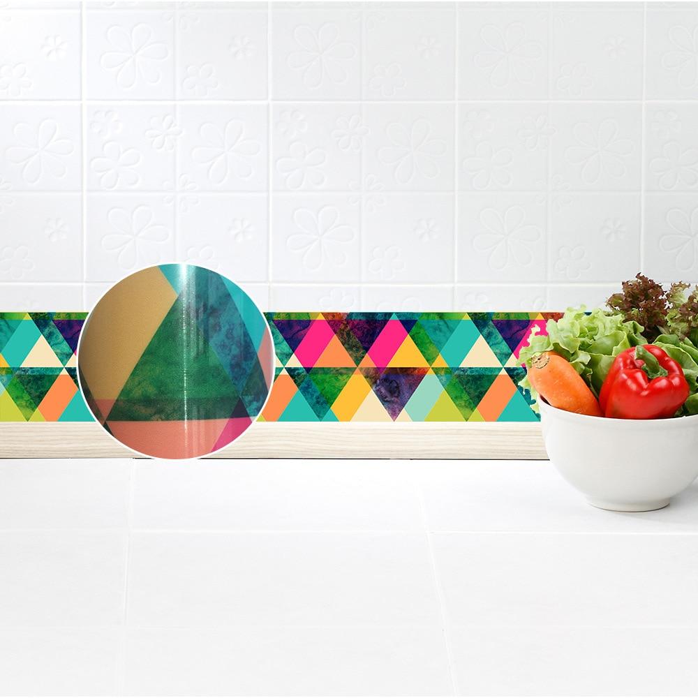 funlife colorful wallpaper borders,3d wall borders self adhesive forfunlife colorful wallpaper borders,3d wall borders self adhesive for corridor bathroom kitchen home decor,waterproof diy decal