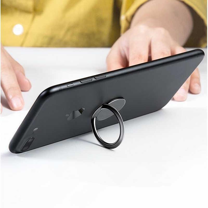 Kim Loại Siêu Mỏng Stent Phụ Kiện Điện Thoại Di Động Đứng Nhẫn Bằng Từ Tính Cho Dễ Thương Tế Bào Giá Đỡ Điện Thoại Ô Tô Thông Minh Cho iPhone X XS