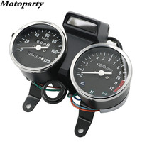 Motoparty Motorcycle Instrument GN125 Speed Meter Assembly Motorcycle Accessories