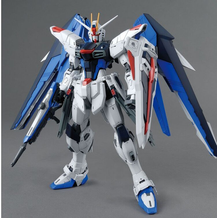 ZGMF X10A Freedom Gundam assembly toy DABAN MG 1 100 robot assembling building toy model action