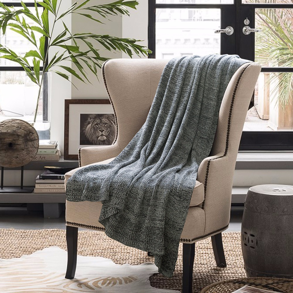Superior Free Shipping Elegant Scandinavian Cozy Office Home Decorative Bedspread  Knitted Throw Blanket Wrap Rug 120*180cm/180*200cm In Throw From Home U0026  Garden On ...