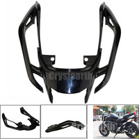 Black Tempered Plastic Motorcycle Rear Tail Section Cowl Fairing Cover For Yamaha FZ6N 2017 FZ6S FZ