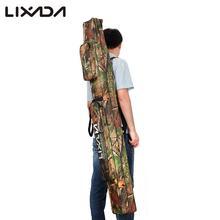 Lixada multifunctional layer rod camouflage tackle double arrival fishing outdoor bag
