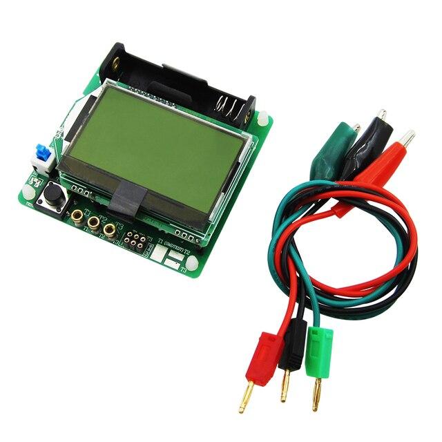 2017 новейшая версия индукторного конденсатора ESR измеритель DIY MG328 Многофункциональный тестер