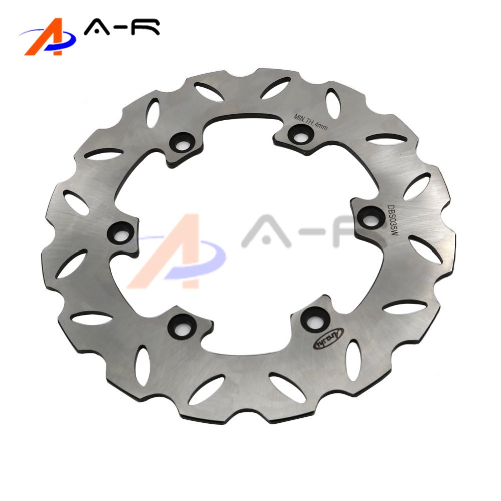 Rear Motorcycle Brake Disc Rotor for Yamaha WR/YZ 125 89-97 WR/YZ 250 90-97 WR 400F YZ400F 98-00 TTR 600 98-07 WR200R 92-95 motorcycle brake disc rotor fit for yamaha yz 125 wr 250 1988 2001 wr125 yz250 1999 2000 wr250f yz 250f yz250 wr426f 2001 rear