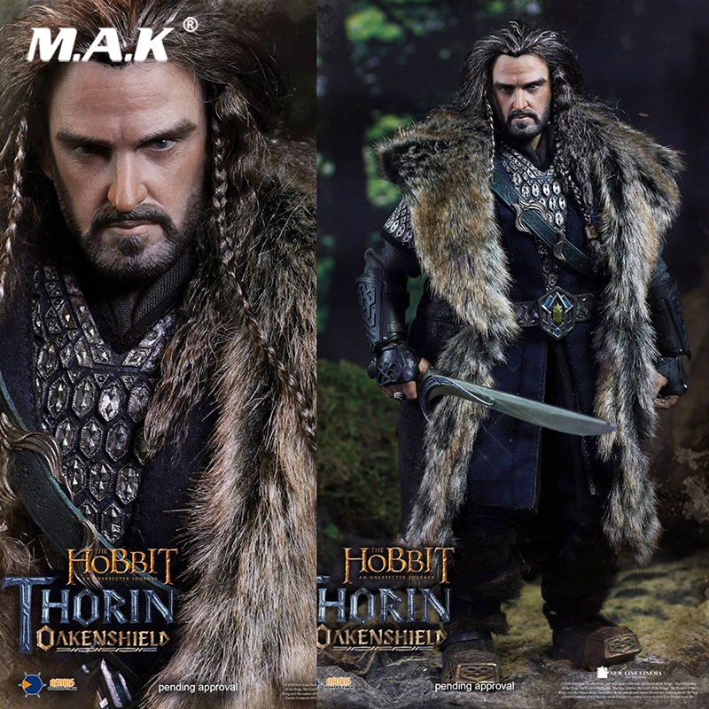 For collection 1/6 Scale HOBT06 The Hobbit: An Unexpected Journey THORIN OAKENSHIELD action figure Toys whole set Action Figure