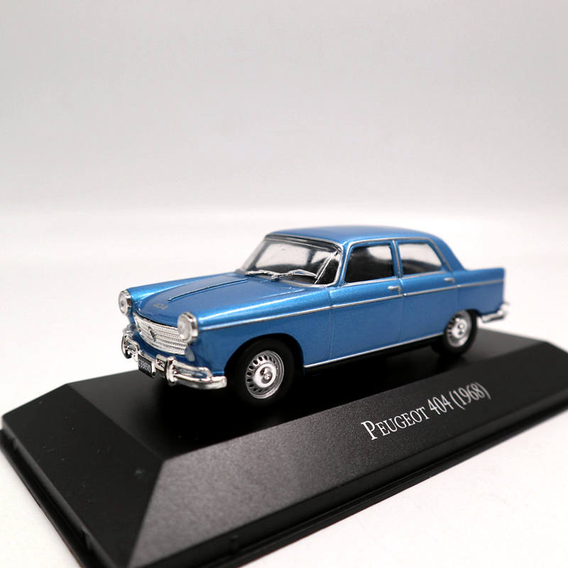 Altaya 1:43 IXO Peugeot 404 1968 Diecast Models Miniature Collection Toys Car