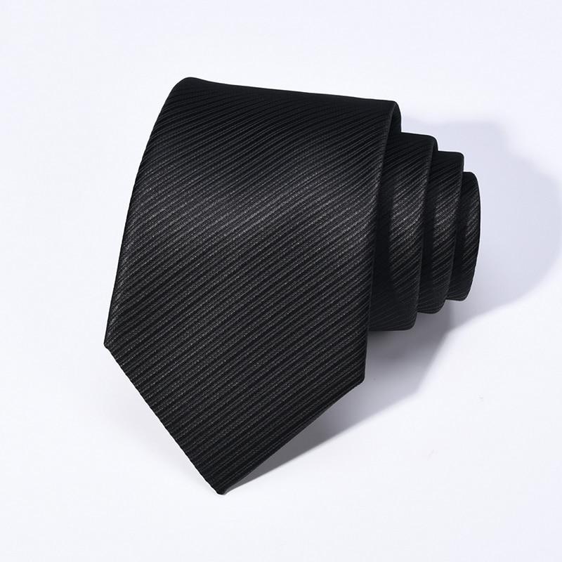 silk tie men's business dress groom groomsmen married professional job interview tie gift box