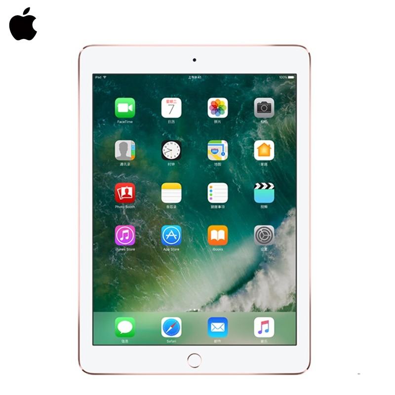 2017 модель Apple iPad 9,7 дюймов таблетки ПК 32 г/128 г дисплеем Retina 64bit A9 чип 10 час аккумулятор камера HD Touch ID Великобритания/США plug