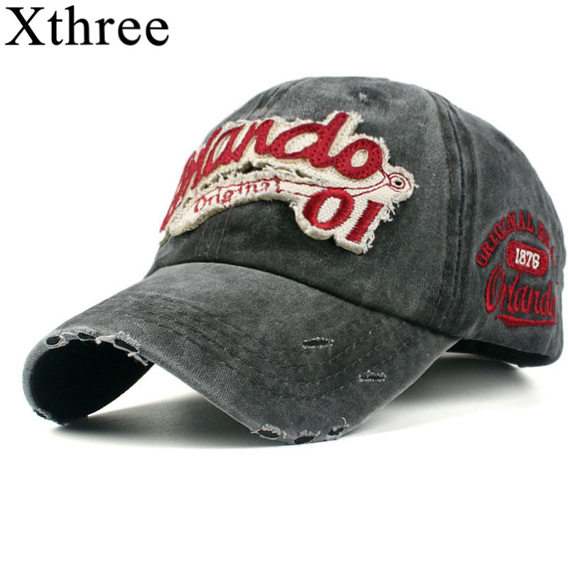 Xthree washed cotton retro baseball cap for men fitted cap snapback hat for women gorras casual casquette embroidery letter cap xthree men s baseball cap cotton snapback hat for men women casual cap casquette homme letter embroidery gorras