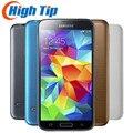 Original desbloqueado Samsung S5 SM-G900 G900F G900A G900H Quad-core 5,1 pulgadas 3G y 4G 16MP GPS WIFI teléfono móvil renovado dropship