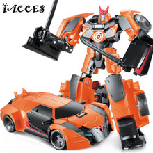 NEW Anime Series Action Figure Toys Transformation 4 Robot Car ABS Plastic Class Cool juguetes Model Boy Toy Christmas Gifts