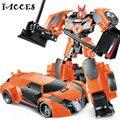 NUEVA Serie de Anime Figura de Acción Juguetes Transformación 4 Robot Car juguetes Modelo de Plástico ABS Clase Fresca Chico Juguete Regalos de Navidad