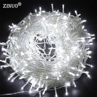50M 400 Fairy LED String Light Outdoor Waterproof AC220V 110V Chirstmas String Garland For Xmas Wedding