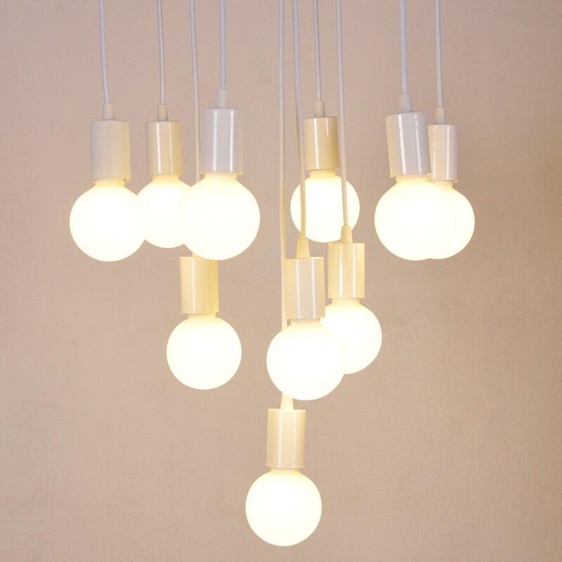 Modern DIY Pendant Lights E27 Lamp Holder Fashion Design