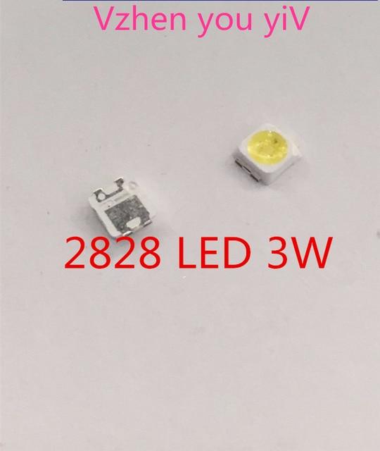 Rétro-éclairage LED, pour SAMSUNG pièces 100 2828, rétro-éclairage LCD, avec zener 3V 1.5 3228, 2828, pour Application TV, TV