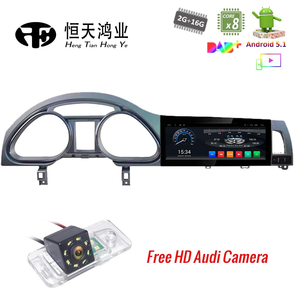 Android 5.1 10.25 Car multimedia para Audi Q7 Android Car DVD Player 2007-2015 Octa núcleo GPS Bluetooth rádio WI-FI 4g Estéreo