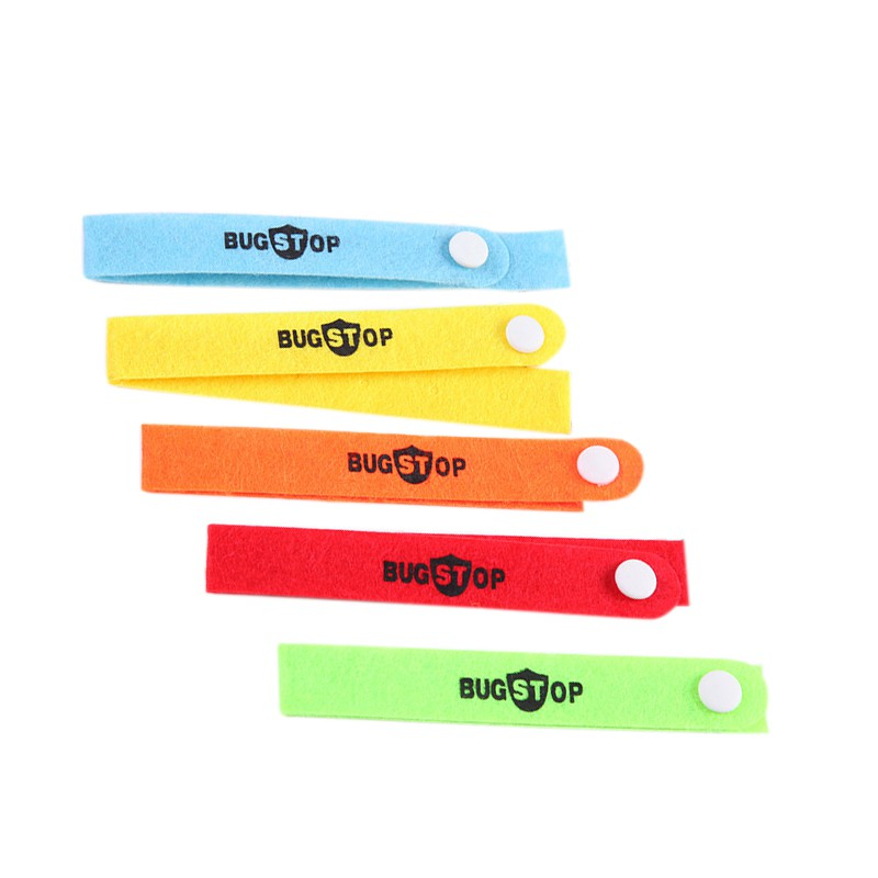 Anti Mosquito repellent bracelet Insect repellent Wristband Mosquito Killer hand strap for adult baby outdoor Color Random