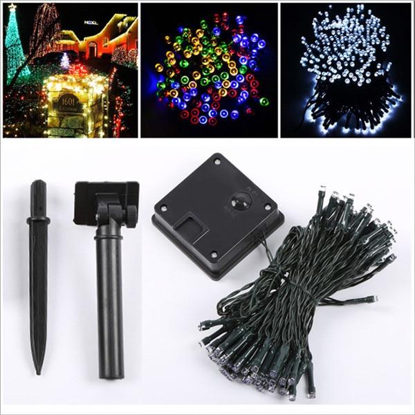 Solar String Lights 5.4M 50 LED Waterproof Outdoor Decoration Solar String Lights Xmas Holiday Party Outdoor Garden Tree Lamp