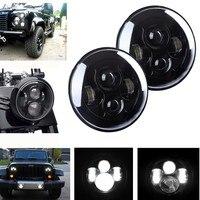 H4 7Inch LED Headlight for UAZ 4x4 Jungle Lada 4x4 urban Niva Headlamp for Jeep Wrangler JK CJ Hummer H1 H2