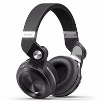 Bluedio T2 + Bluetooth наушники Over-Ear Беспроводной складные наушники с микрофоном BT 5,0 FM радио SD карты гарнитуры