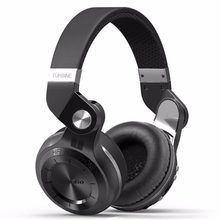 Bluedio T2+ Bluetooth Headphone Over-Ear Wireless Foldable Headphones with Mic BT 4.1 FM Radio SD Card Headset(China)