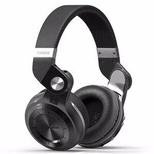 Bluedio T2+ Bluetooth Headphone Over-Ear Wireless Foldable Headphones with Mic BT 5.0 FM Radio SD Card Headset(China)