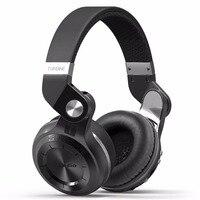 Bluedio T2+ Bluetooth Headphone Over Ear Wireless Foldable Headphones with Mic BT 5.0 FM Radio SD Card Headset