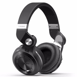 Bluedio T2+ Bluetooth <font><b>Headphone</b></font> Over-Ear Wireless Foldable <font><b>Headphones</b></font> <font><b>with</b></font> <font><b>Mic</b></font> BT 5.0 FM Radio SD Card Headset