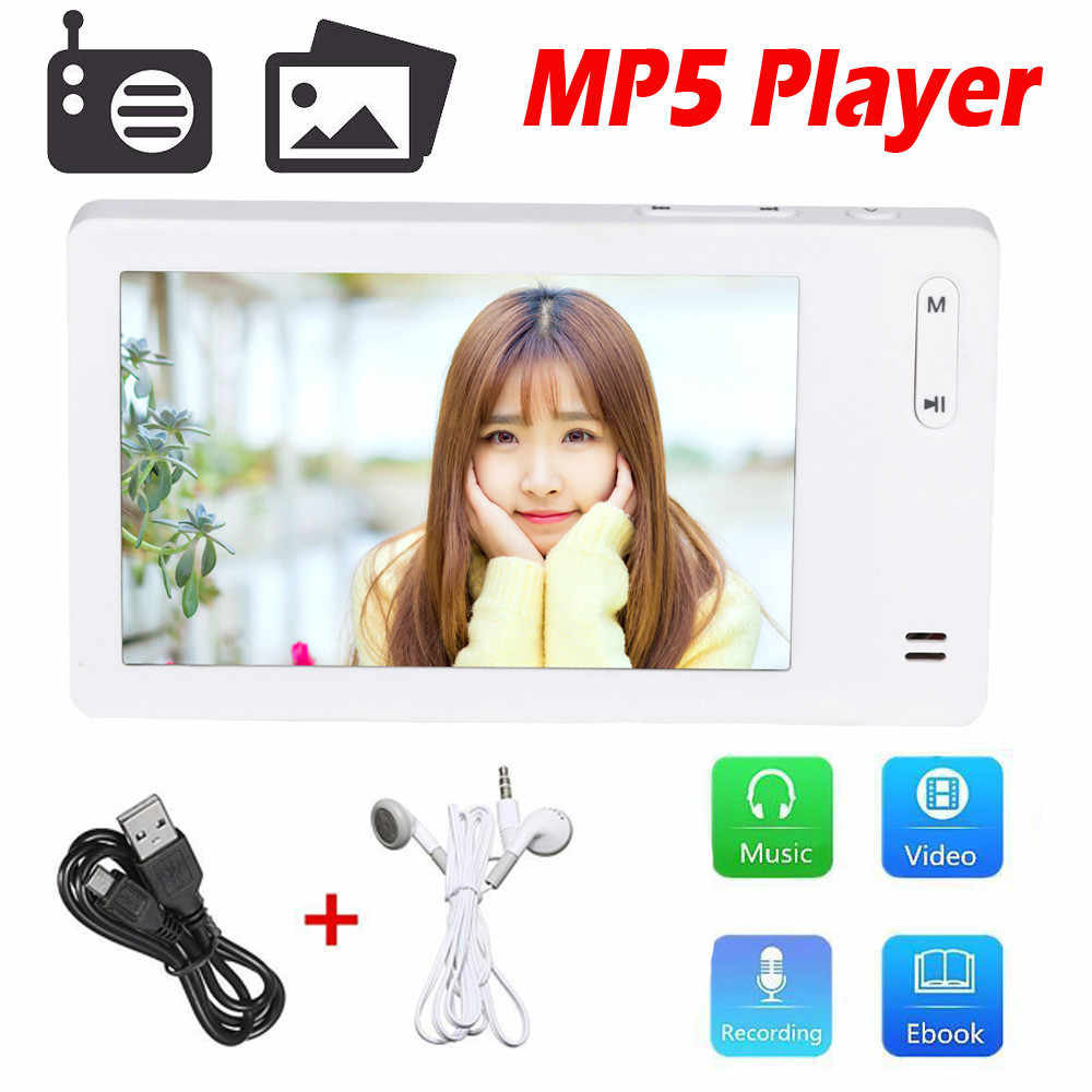 HIPERDEAL Factory Price 8GB Slim LCD Screen MP4 MP5 Video Music Media Player FM Radio Recorder Dopship May16 HW