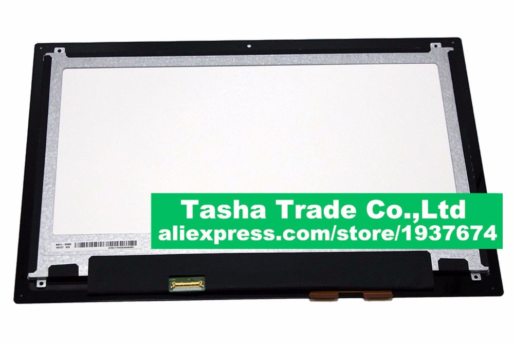 1920*1080 For Dell Inspiron 13 7000 Series 7347 7348 P57G LCD Display Touch Screen Digitizer Assembly Without Frame new 11 6 for sony vaio pro 11 touch screen digitizer assembly lcd vvx11f009g10g00 1920 1080