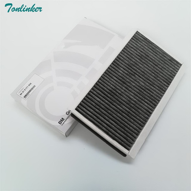 Cabin Filter For Bmw E60 E61 520i 530i 535i 2005 2010 Built in Activated carbon Cabin Filter Car accessories Oem 64319171858