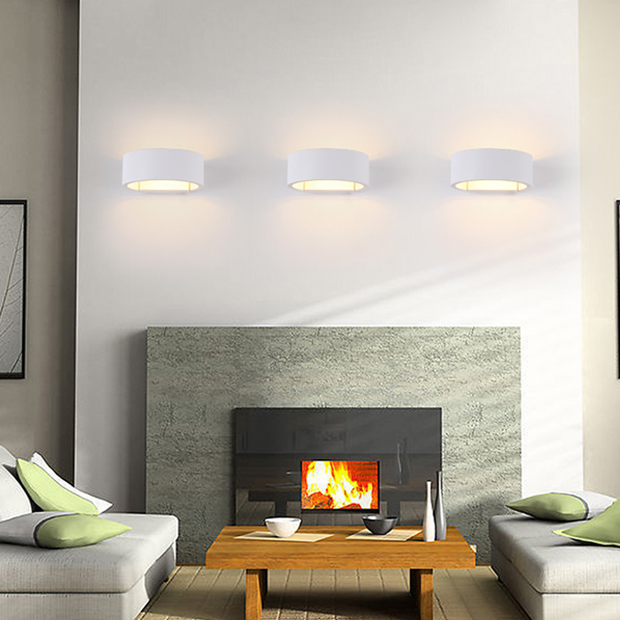 Ժամանակակից լուսավորված պատի լամպ - Ներքին լուսավորություն - Լուսանկար 3