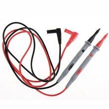 1 пара игольчатых наконечников зонда Тестовые провода для Цифровой мультиметр метр тест er P0.01