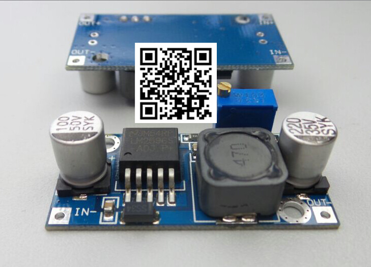 1pcs LM2596 LM2596S DC-DC adjustable step-down power Supply module adjustable Voltage regulator 3A