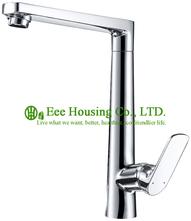 Free Shipping Brass Single-lever Sink Mixer,kitchen Faucet Chrome Finished,kitchen Accessories