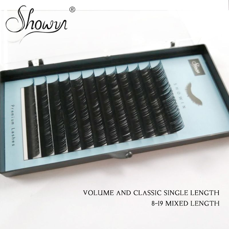 Mink False Long Individual Skonhed Lashes Thin Eyelashes Premium Lash Accessories Natural Eyelashes Mink Lash Lift in False Eyelashes from Beauty Health