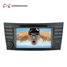 Reproductor de DVD del coche para el Benz W211 CLS CLK con GPS Navi Radio Ipod BT USB SD, soporte 3G Wifi Virtual 10-Discs + Free 8G Mapa Card