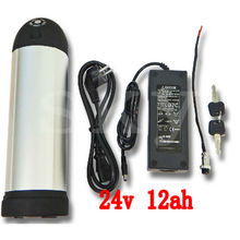 24V 12AH Water bottle Lithium Ion Battery water kettle for Electric Bike Conversion kit ebike rechargeable batttery